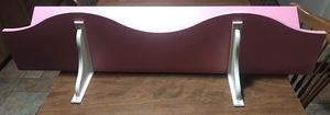 """48"""" wide pink used wall shelves for Sale in Northbrook, IL"""