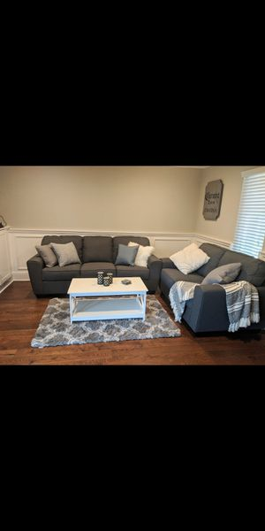 Blue Couch for Sale in Brentwood, CA