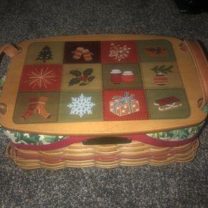 Longaberger Christmas Basket for Sale in Fremont, NE