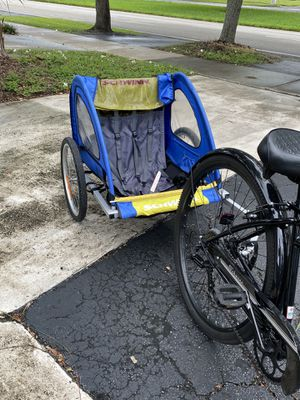 Schwinn Prescott bike trailer for 2 passenger for Sale in Hollywood, FL