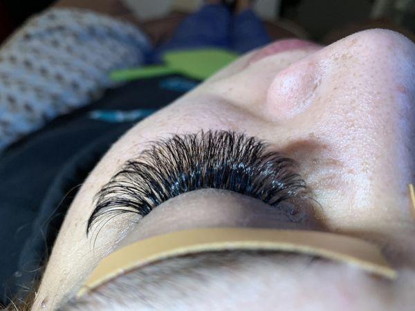 Eyelash extension (volume set)