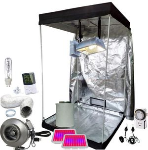 Full Grow Tent Setups Custom Quotes LED HPS CMH LEC just tell me the size you want for Sale in Colorado Springs, CO