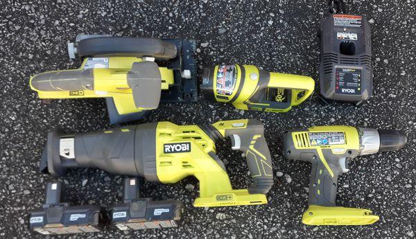 Ryobi 18 volt 4-Piece tool set
