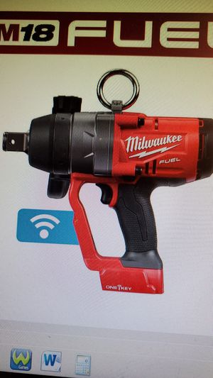 Milwaukee M18 ONE-KEY Fuel 1 in. Impact Wrench W/ Friction Ring (Tool-Only) for Sale in Modesto, CA