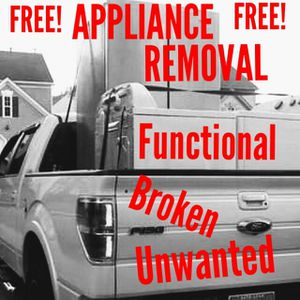 Free Appliance Removal ** Broken ** Functional ** Unwanted for Sale in Hilliard, OH