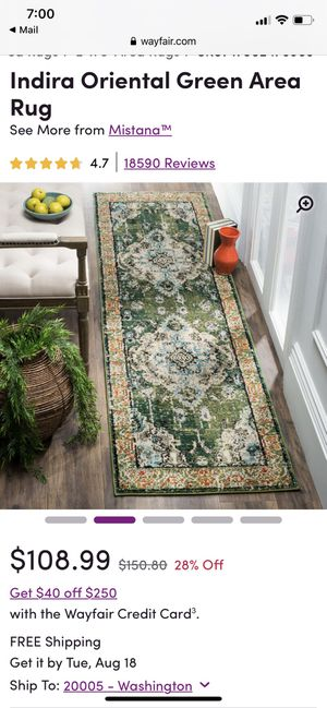 Brand new 14' rug! for Sale in Washington, DC