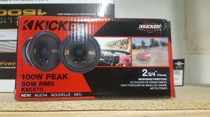 NEW!!! Kicker KS 2 3/4 Speakers for Sale in Phoenix, AZ