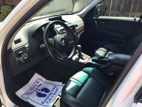 """2010 BMW X3 """"FOR PARTS OR EXPORT ONLY"""""""