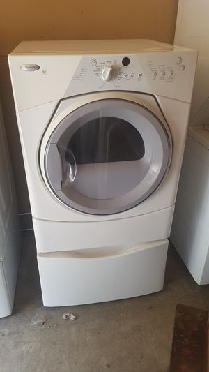 Electric dryer with pedestal for Sale in Indianapolis, IN
