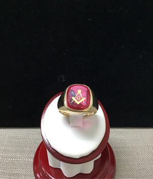 10 Karat Gold Masonic Ring for Sale in La Habra, CA