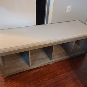 Bench 4 Bins Organizer for Sale in Alexandria, VA