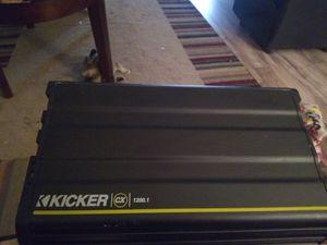 Kicker amp 1200w for Sale in Simmesport, LA