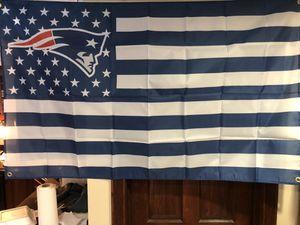 New England Patriots Flag (3'x5') for Sale in Mokena, IL