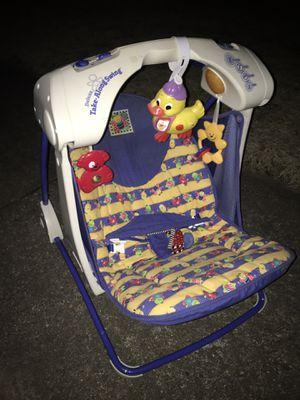 LNEW foldup baby swing & sounds 25 FIRM for Sale in Glen Burnie, MD