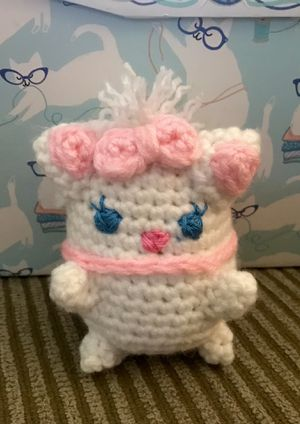 Handmade Marie Aristocats plushie! (Up for trade) for Sale in Sacramento, CA