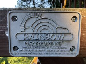 Rainbow play set for Sale in Vancouver, WA