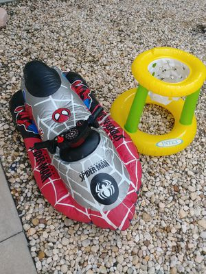 Spiderman electric water jet ski floatie for Sale in Fort Myers, FL