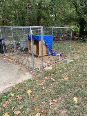 Dog kennel and home made dog house for Sale in Alexandria, VA