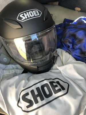 Never used. Shoel RF-1100 motorcycle helmet. Size medium. for Sale in Denver, CO