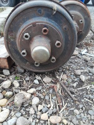 6 lug trailer axles and wills for Sale in Tacoma, WA