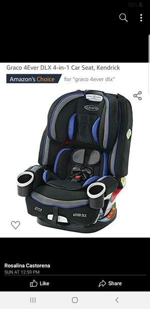 4ever car seat graco DLX for Sale in Fontana, CA