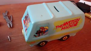 Mint Condition collectible Scooby-Doo Mystery mobile Penny Bank for Sale in Angier, NC