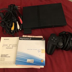 PlayStation 2 Slim Game Console for Sale in Fort Lauderdale, FL