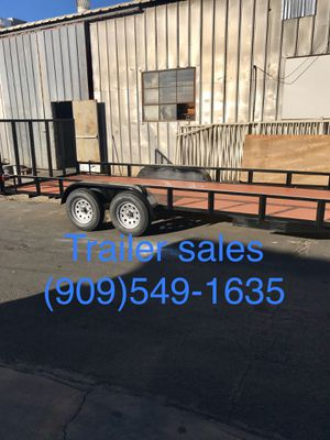 Brand new 8.5x20x1 utility trailer for Sale in Riverside, CA