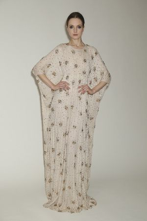 Naeem Khan The, Modern Dushess Embroidered Caftan for Sale for sale  PA, US