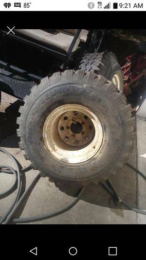 36.5x14.00-15 on 5x 4.5inch lug mud tires for Sale in Largo, FL