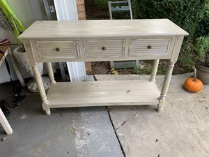 Entry/Sofa Table for Sale in Greenville, SC
