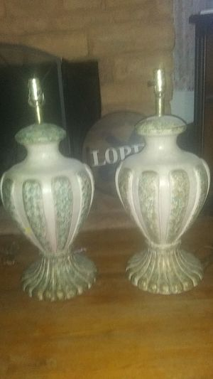 Ceramic lamps for Sale in Bakersfield, CA