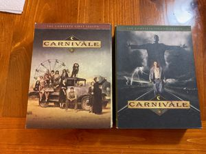 Carnivale complete season 1-2 DVD set for Sale in North Bay Village, FL