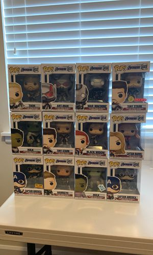 Avengers End Game Funko Pops for Sale in Puyallup, WA