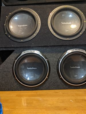 2 Sets of 12 inch P3 Rockford Fosgates! $1 for Sale in Portland, OR