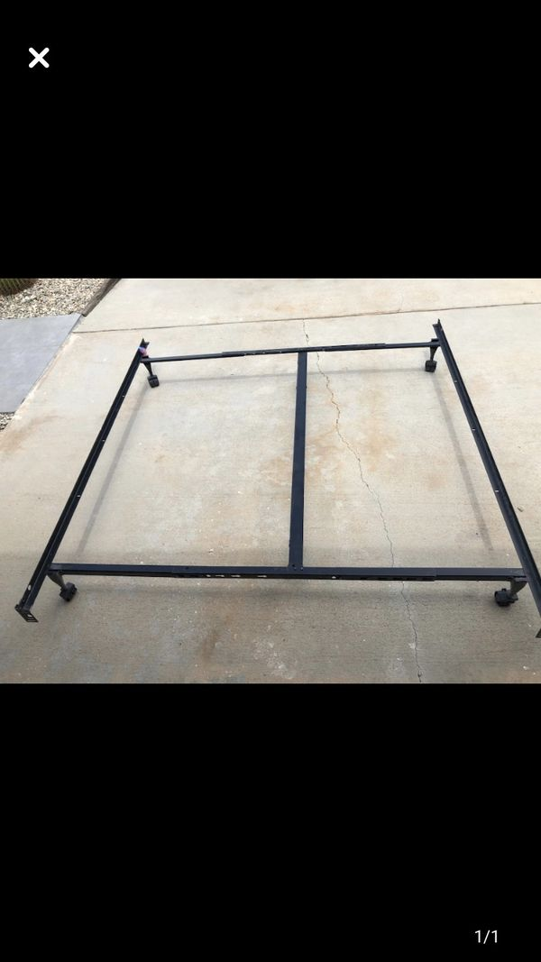 King / queen adjustable bed frame
