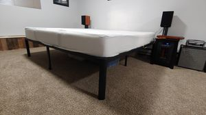 KING SIZE BED FRAME WITH MATTRESS for Sale in Seattle, WA
