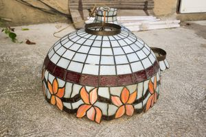Vintage Stainedglass Chandelier Hanging Light Fixture for Sale in Philadelphia, PA