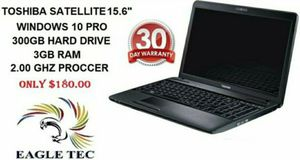 """Toshiba satellite 15.6"""" laptop for Sale in Allentown, PA"""