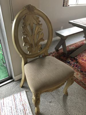 Elegant Chair (bedroom set for sale too) for Sale in Santa Monica, CA