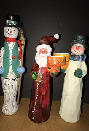 Terry's Village hand made in wood Christmas Decorations for Sale in Frederick, MD