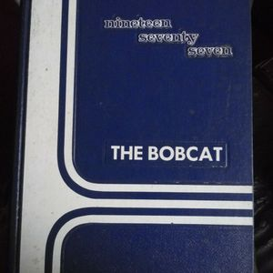 1977 Year Book. The Bobcat for Sale in Donna, TX