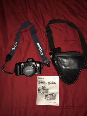 Vintage Canon EOS Rebel X Film Camera for Sale in Wethersfield, CT
