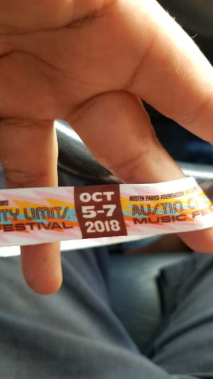 3 day ACL wristbands 300 for 2 unregistered for Sale in Austin, TX