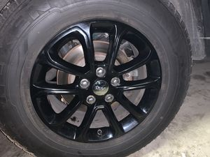 OEM Jeep Grand Cherokee Wheels GLOSS BLACK for Sale in Dearborn, MI