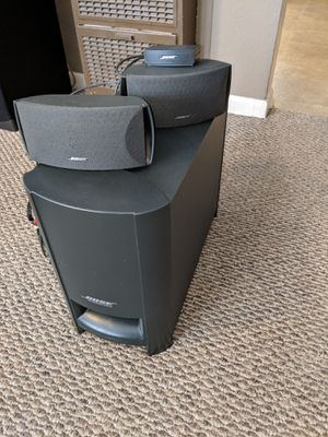 Bose acoustimass home theater $125 for Sale in Billings, MT