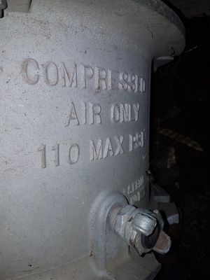 Air powered fan, for ventilation in a oil tank. for Sale in Stroud, OK