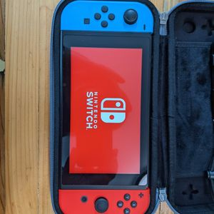 Nintendo Switch + Case for Sale in Alameda, CA
