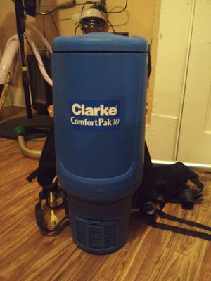 Clarke Comfort backpack vacume cleaner for Sale in Coppell, TX