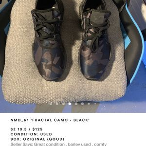 Nmd R1 Worn Very Few Times for Sale in Collingswood, NJ